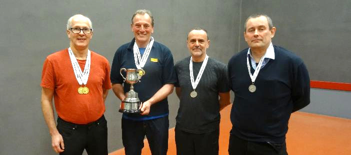 Stuart Kirby and Neil Roberts win Doubles versus Brian Kirk and Richard Christie