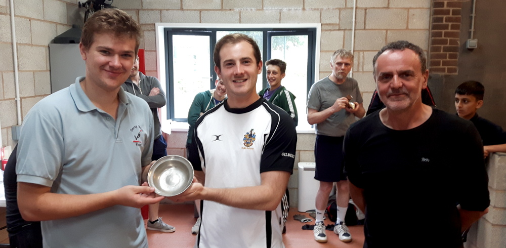 Rob Whitehorn and George Terry win DMF Summer Tournament