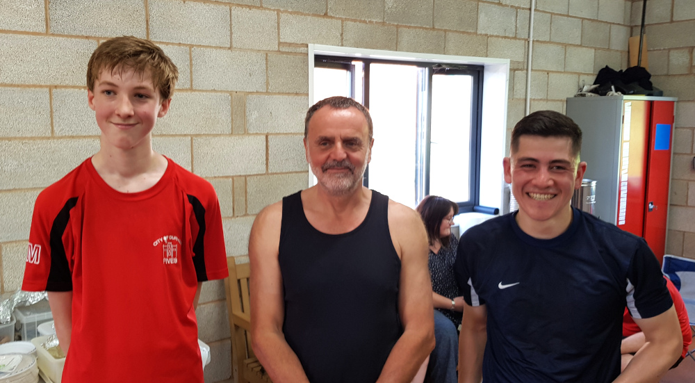 Anthony Goodwin and Oscar Mckintyre DM Summer Tournament Plate Runners-Up