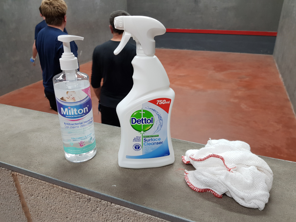 Disinfection products - August 2020