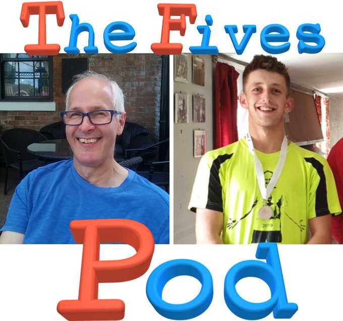 Stuart Kirby and Lewis Keates interviewed on the Fives Pod - July 2020